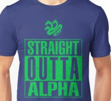 Straight Outta Alpha Unisex T-Shirt