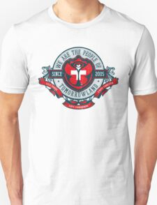 People of Tomorrowland Vintage Flags logo -  Switzerland - Suisse - Schweiz - svizzera Unisex T-Shirt