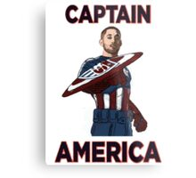 Captain America Clint Dempsey US Men's National Soccer Team Metal Print