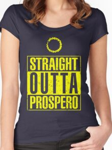 Straight Outta Prospero Women's Fitted Scoop T-Shirt