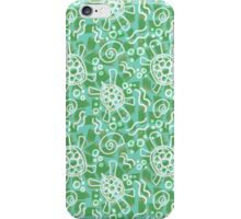 Green Turtles by VIXTOPHER iPhone Case/Skin