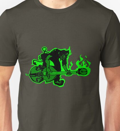 Psychobilly Upright Bass Unisex T-Shirt