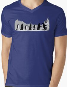 Pinguins Party Costume Mens V-Neck T-Shirt