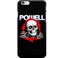 POWELL PERALTA SKATEBOARDS RETRO iPhone Case/Skin