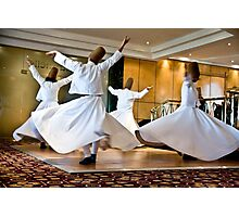 Whirling Dervishes Photographic Print