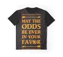 MAY THE ODDS Graphic T-Shirt
