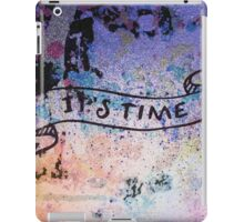 It's time! iPad Case/Skin