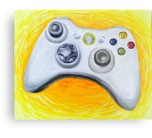 XBOX 360 Controller Impressionist Painting Metal Print