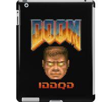 Doom iddqd face iPad Case/Skin