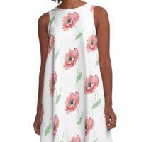 Venetian Poppy A-Line Dress