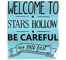 Welcome to Stars Hollow Poster