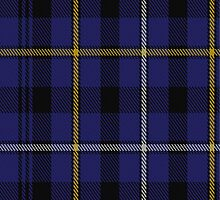 00051 Fleming, Frisken or Flanders Clan Tartan  by Detnecs2013