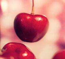 Sweet Red Cherries by alyphoto