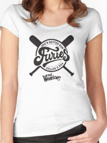 THE BASEBALL FURIES GANG - THE WARRIORS  Women's Fitted Scoop T-Shirt