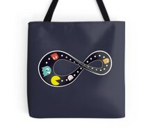Pacman Retro Mobius Strip Tote Bag