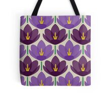 Crocus Flower Tote Bag