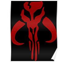 Mandalorian Emblem Poster