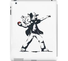 Banksy Ash iPad Case/Skin