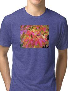 Autumn Leaves on Vines Tri-blend T-Shirt