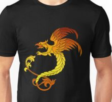 Griffin griffon gryphon in flaming colours Unisex T-Shirt