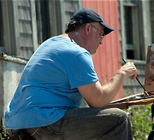 Menemsha Painter by phil decocco