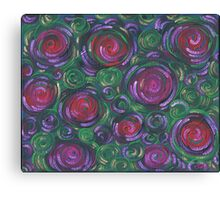 Roses of Aphrodite - acrylic painting Canvas Print