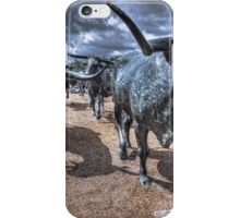 The Cattle Drive  iPhone Case/Skin