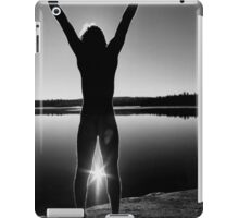 Morning Celebration Monochrome iPad Case/Skin