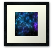 space cloud Framed Print