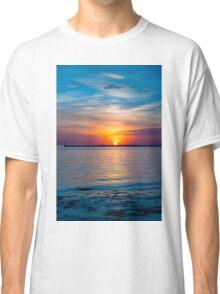 Vibrant Sunset Classic T-Shirt