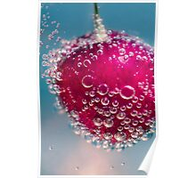 Cherry And Bubbly Poster