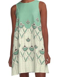 Blooming Winter 2 A-Line Dress