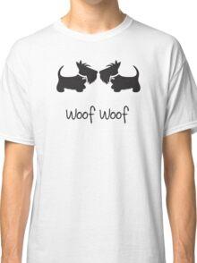 Double Scottie – Woof Woof Classic T-Shirt