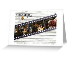 Outlander Wedding Greeting Card