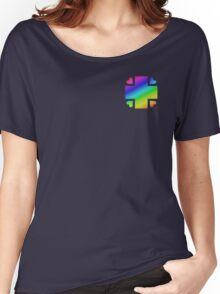 MLP - Cutie Mark Rainbow Special - Nurse Redheart V2 Women's Relaxed Fit T-Shirt