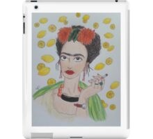 Frida Khalo Likes Lemonade  iPad Case/Skin