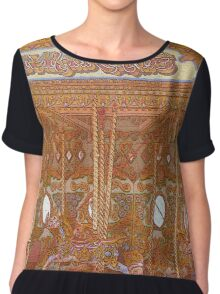 Ride of a life time Chiffon Top