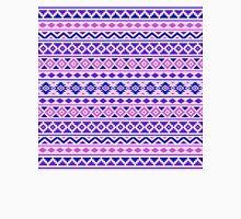 Aztec Essence Pattern II Pinks Blue Purple Unisex T-Shirt