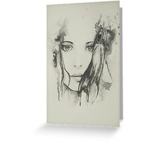 Element-Series AIR Watercolor Portrait Greeting Card