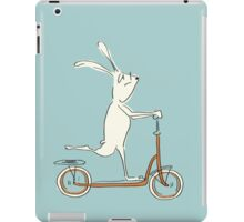 scooter - blue iPad Case/Skin