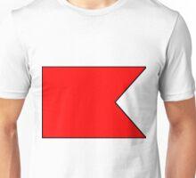 Letter B Flag Unisex T-Shirt