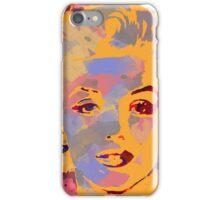 Marilyn Monroe Water Color  iPhone Case/Skin