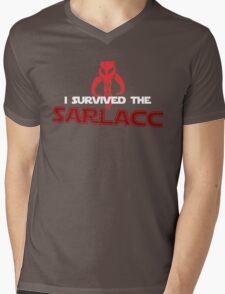 I Survived the Sarlacc Mens V-Neck T-Shirt