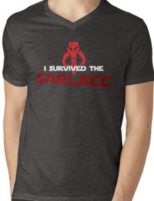 I Survived the Sarlacc Mens V-Neck T-Shirt