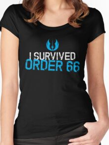 I Survived Order 66 Women's Fitted Scoop T-Shirt