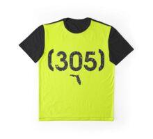 Area Code 305 Florida Graphic T-Shirt