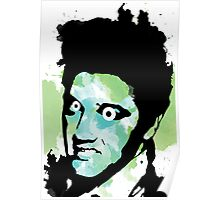 Elvis Water Color Abstract! Poster