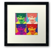 Embrace the Madness Framed Print
