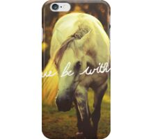 Peace be with you iPhone Case/Skin