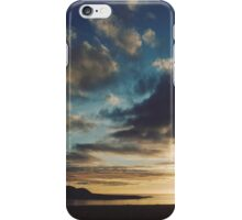Orkney sunset iPhone Case/Skin